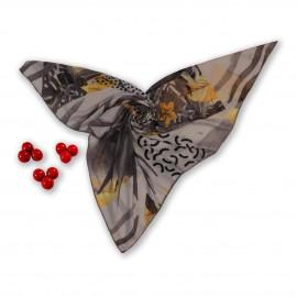 روسری طرح دار مدل بهدیس