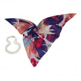 روسری طرح دار مدل تینا