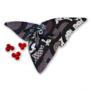 روسری طرح دار مدل دلربا
