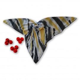 روسری طرح دار مدل تناز