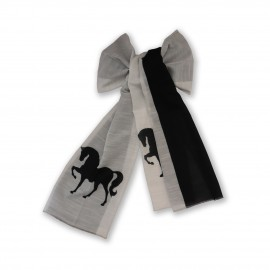 شال طرح دار مدل اسب
